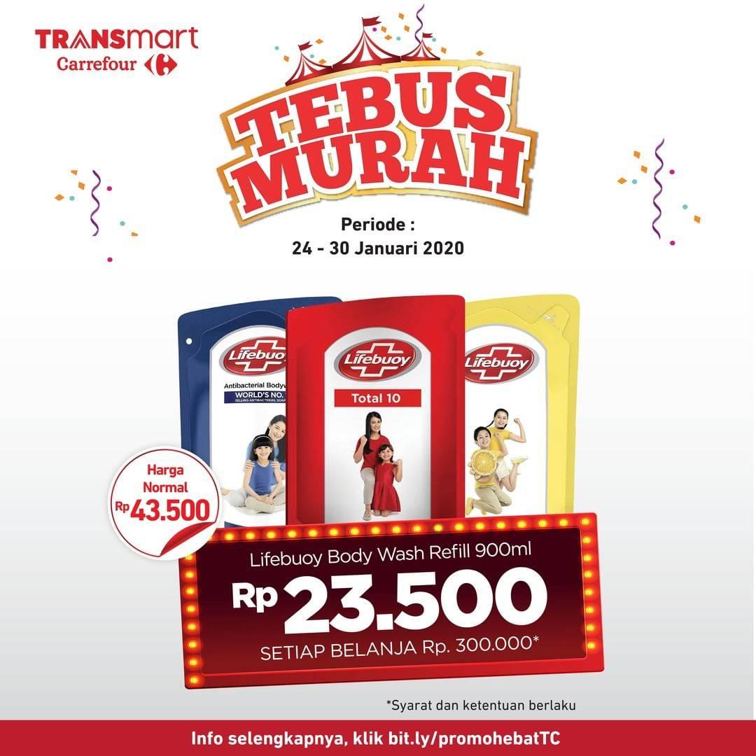 Transmart Carrefour Promo Tebus Murah Produk Lifebuoy Pilihan Hanya Rp 23.500