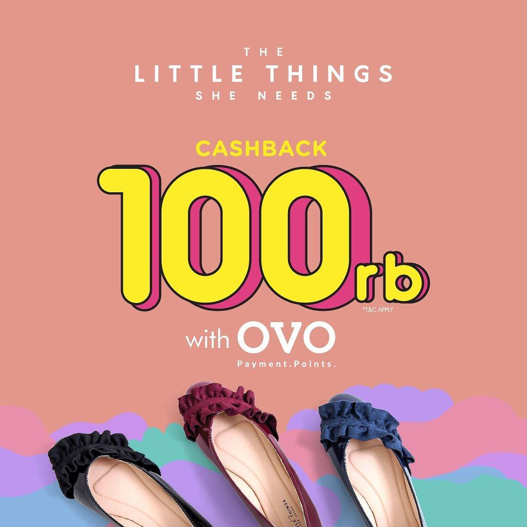 The Little Things She Needs Promo Dari OVO Dapatkan Cashback Rp. 100.000
