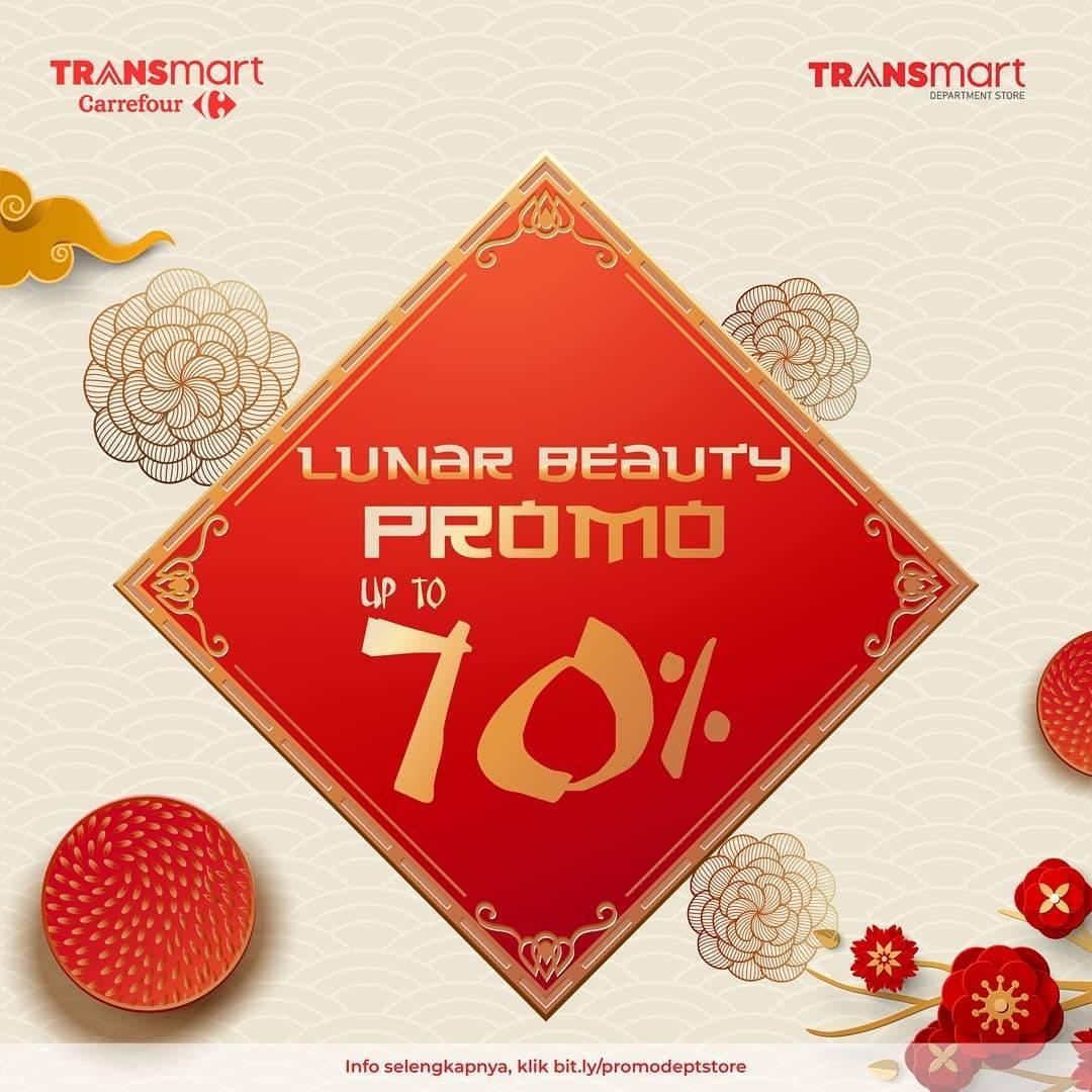 Transmart Carrefour Promo Imlek, Diskon Hingga 70% Untuk Kosmetik Pilihan