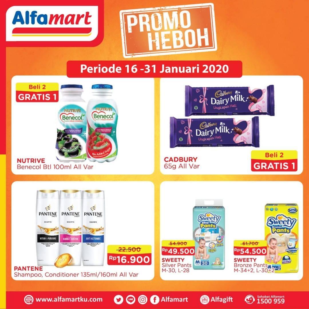 Alfamart Promo Heboh Khusus Produk Pilihan