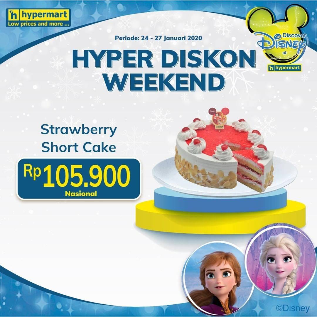 Hypermart Promo Strawberry Short Cake Hanya Rp. 105.900