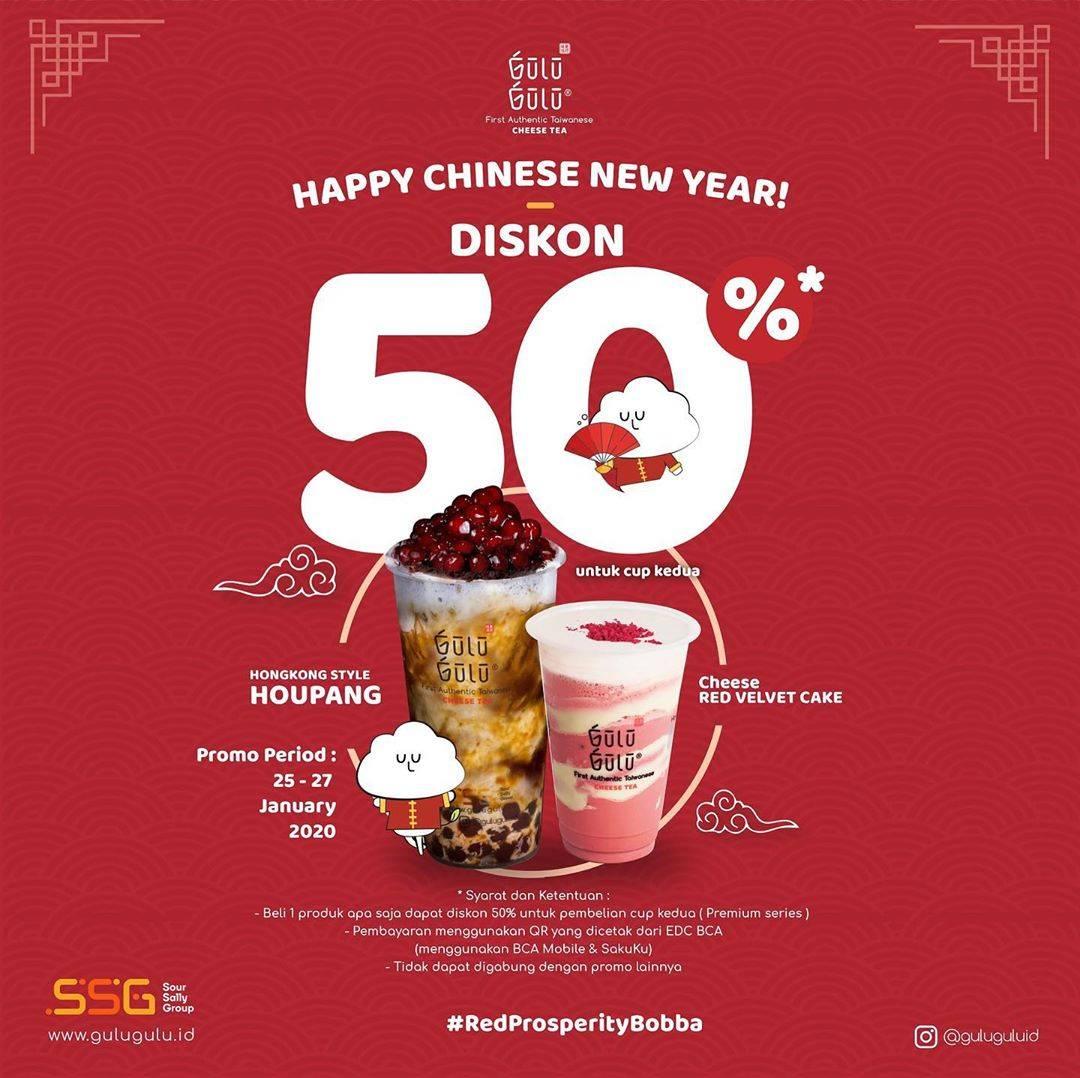 Gulu Gulu Promo Diskon 50% Untuk Pembelian Kedua Dengan Transaksi Melalui BCA Mobile Dan Sakuku