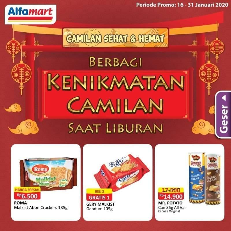 Alfamart Promo Cemilan Sehat Dan Hemat