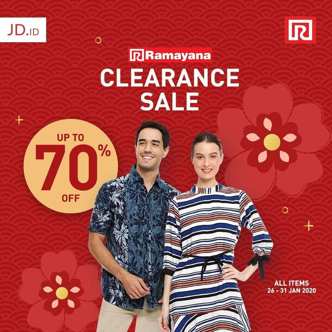 Ramayana Promo Diskon Hingga 70% Khusus Official Store Ramayana Di JD.ID