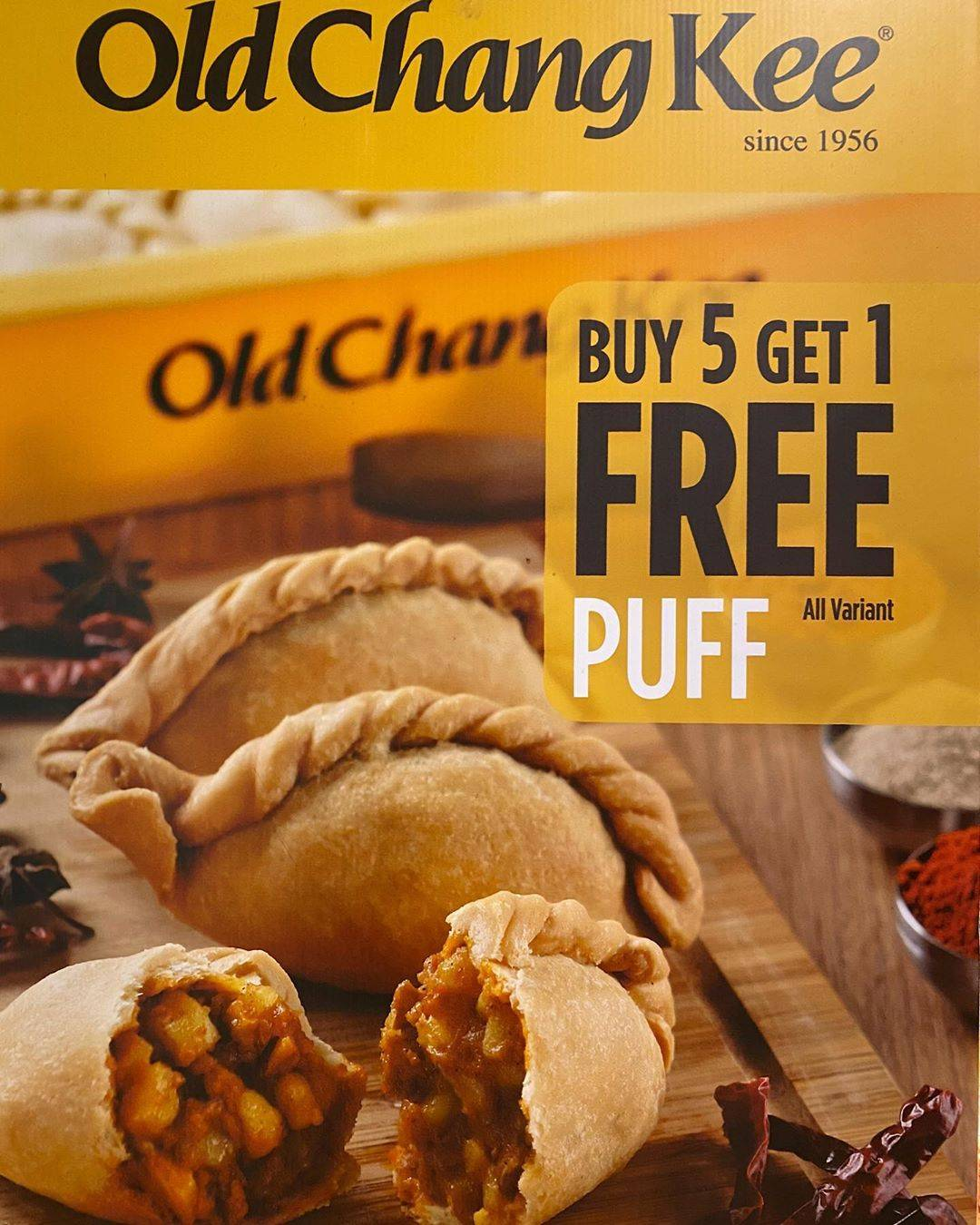 Old Chang Kee Promo Buy 5 Get 1 Free