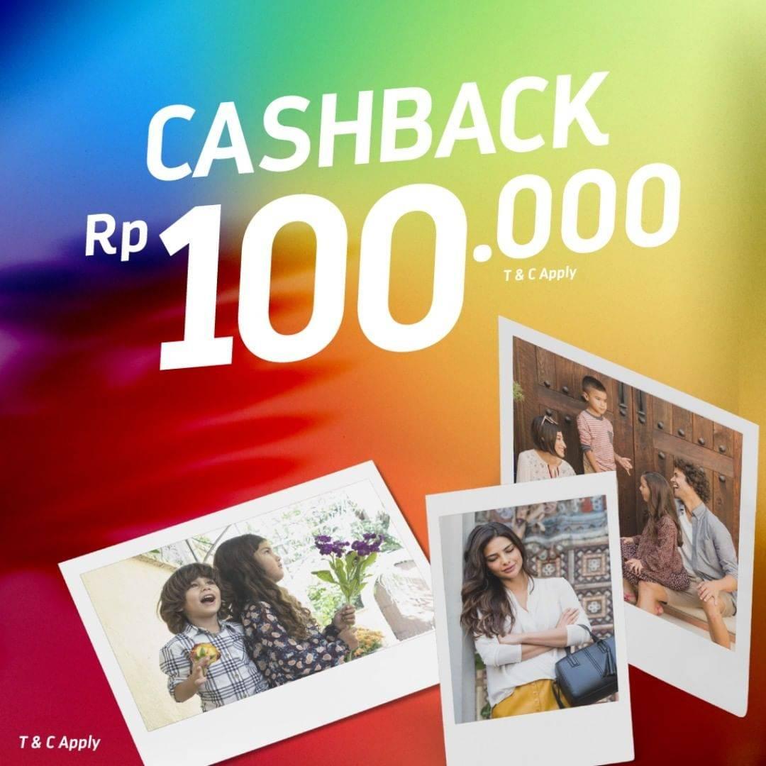 Payless Promo Cashback Hingga Rp. 100.000 Dengan Transaksi Minimun