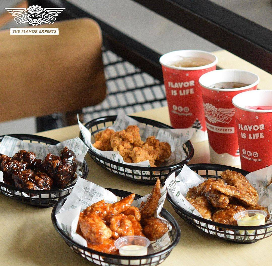 Wingstop Promo Beli 20pcs Crunchy Wings Gratis 20pcs Boneless Wings Menggunakan Grabfood