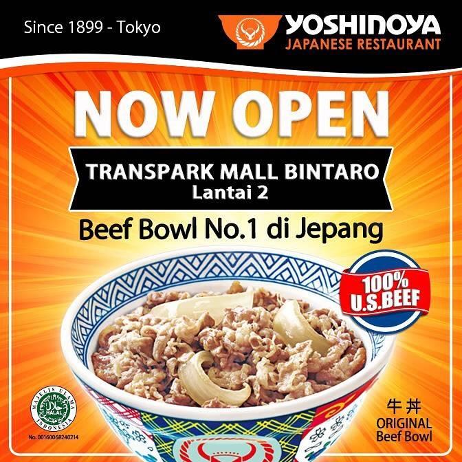 Yoshinoya Promo Gratis Bantal Sapi Untuk Transaksi Minimal Rp. 100.000