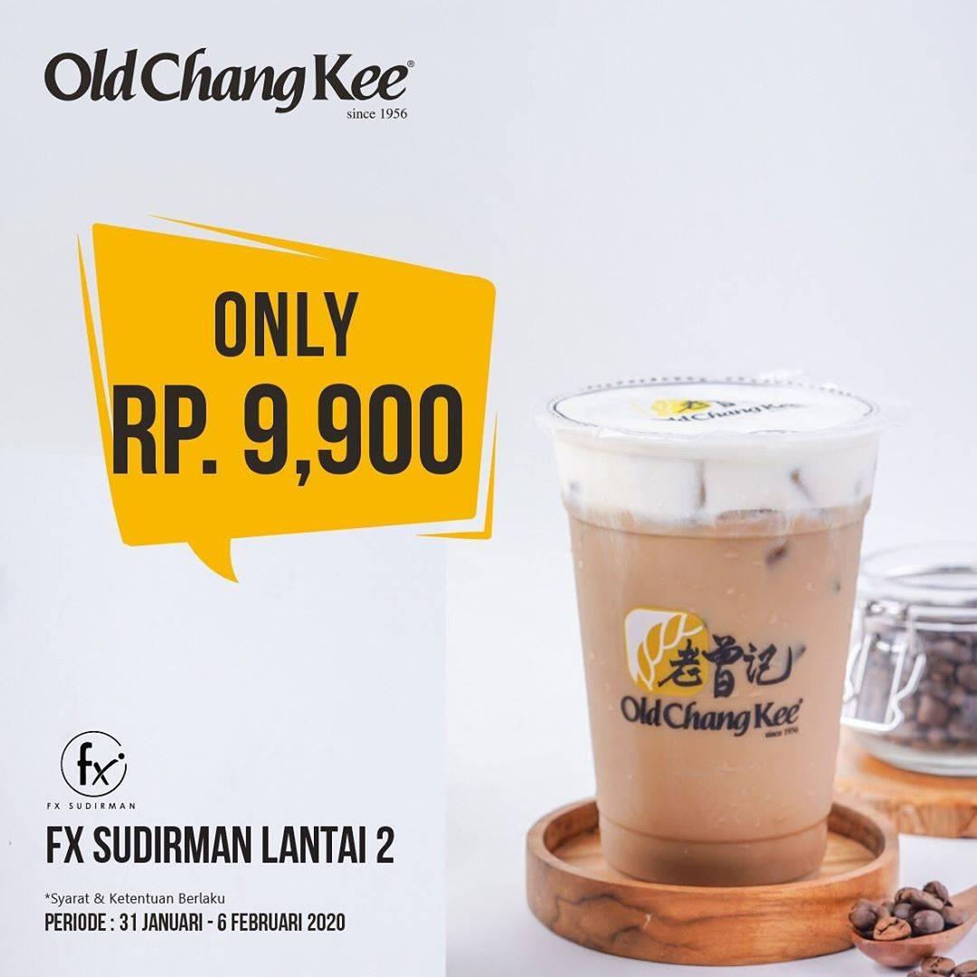 Old Chang Kee Promo Minuman Pilihan Cuma Rp. 9.900