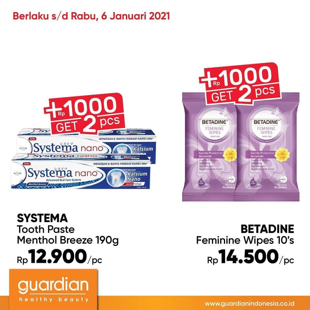 Promo diskon Guardian Katalog Super Hemat 1 - 6 Januari 2020
