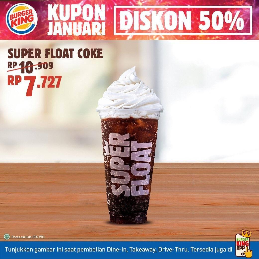 Diskon Burger King Kupon Januari Diskon 50% Untuk Menu Pilihan