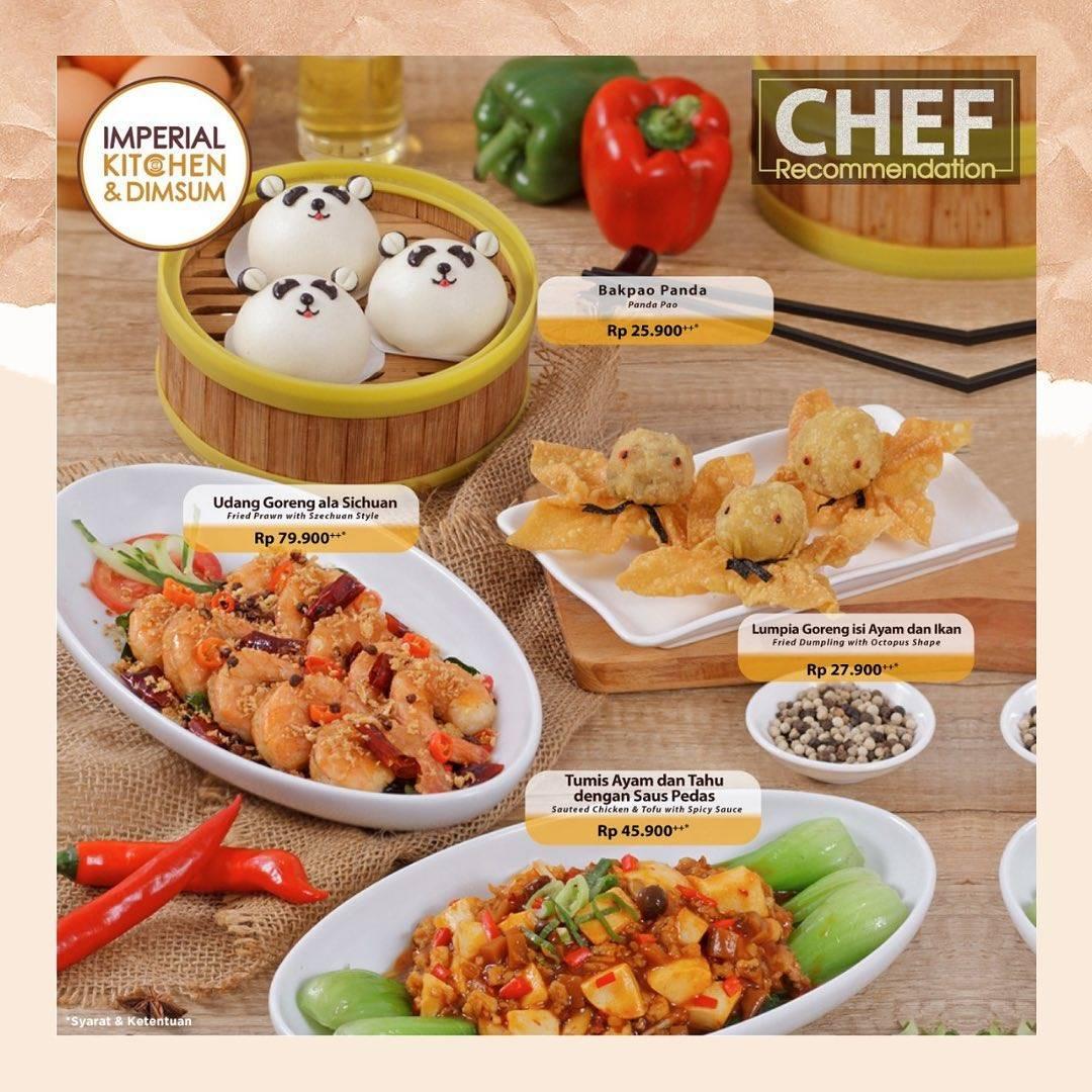 Diskon Imperial Kitchen Promo Chef Recommendation