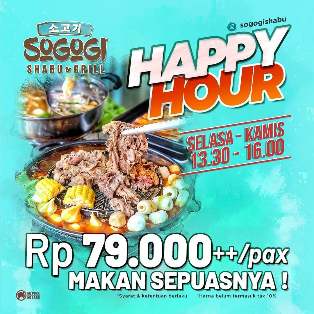 Diskon Sogogi Promo Happy Hour All You Can Eat