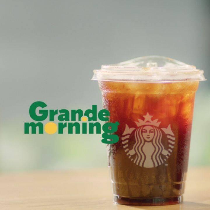 Diskon Starbucks Promo Grande Morning Deals