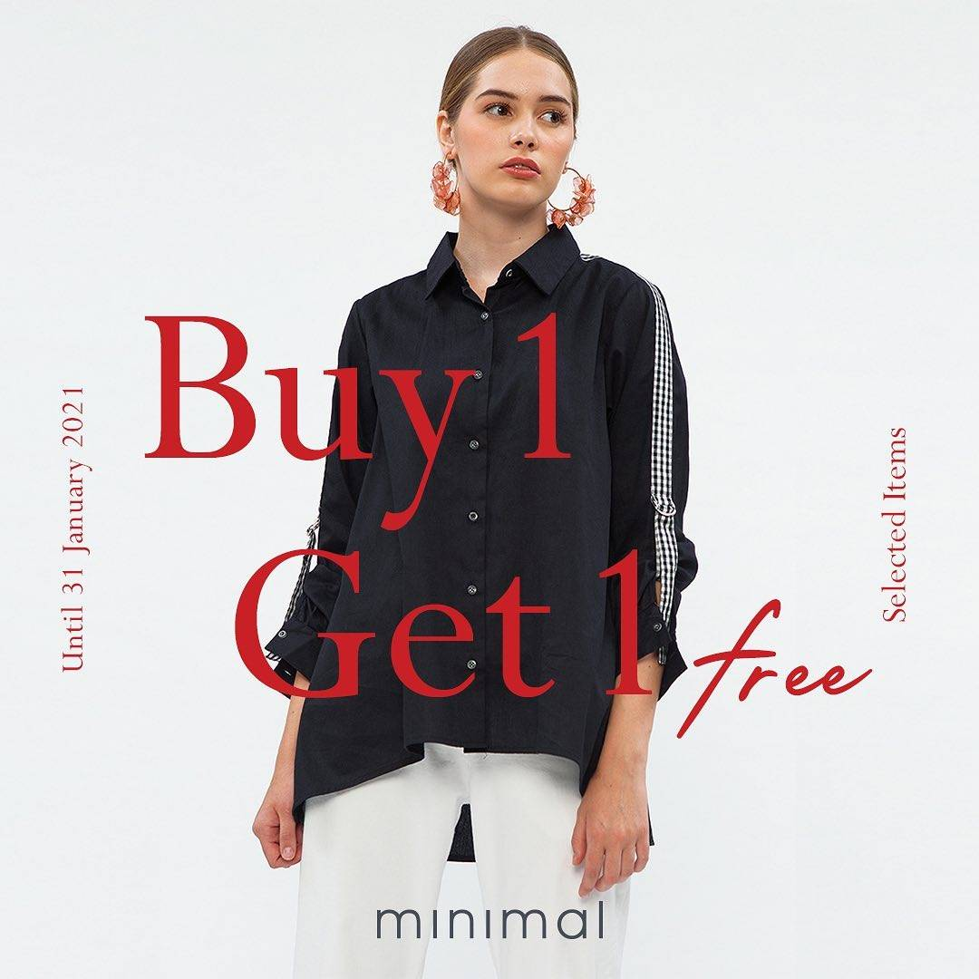 Diskon Minimal Buy 1 Get 1 Free On Selected Items