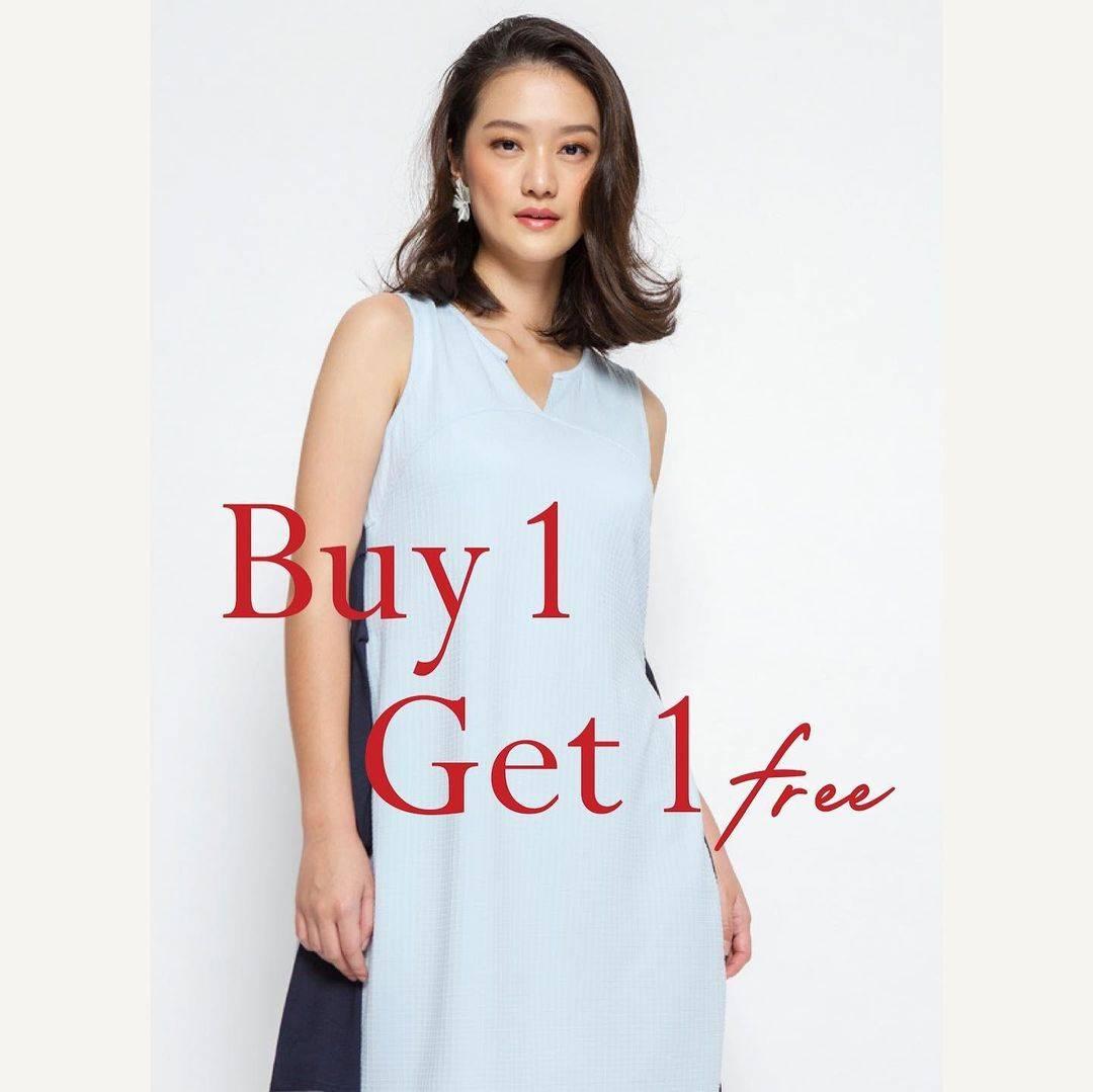 Promo diskon Minimal Buy 1 Get 1 Free On Selected Items