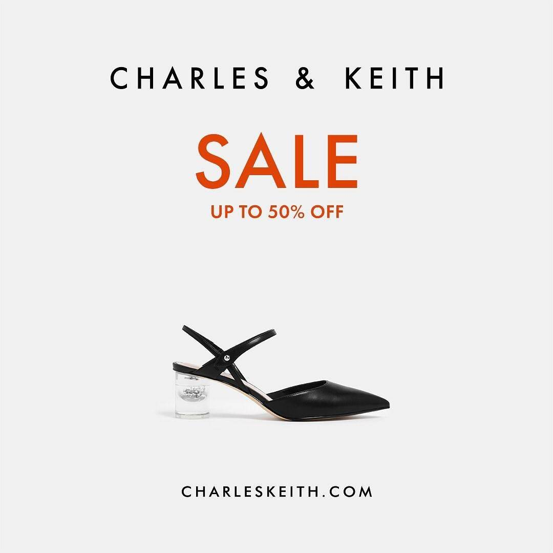 Diskon Charles & Keith End Of Season Sale Up To 50% Off