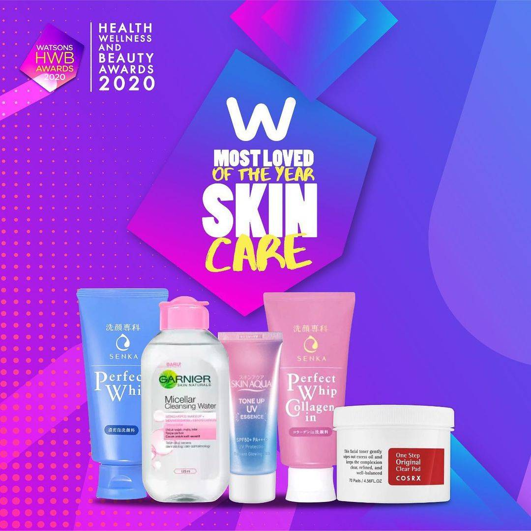 Diskon Watsons Promo Most Loved Of The Year Skincare