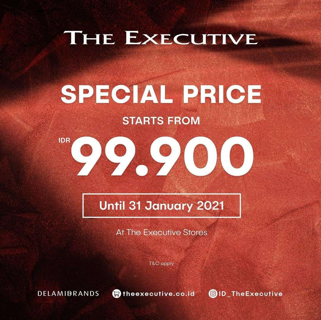 Diskon The Executive Promo Special Price Start From Rp. 99.000