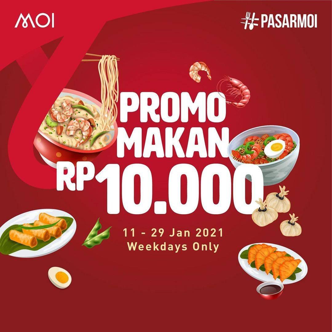Diskon Mall Of Indonesia Promo Makan Rp. 10.000
