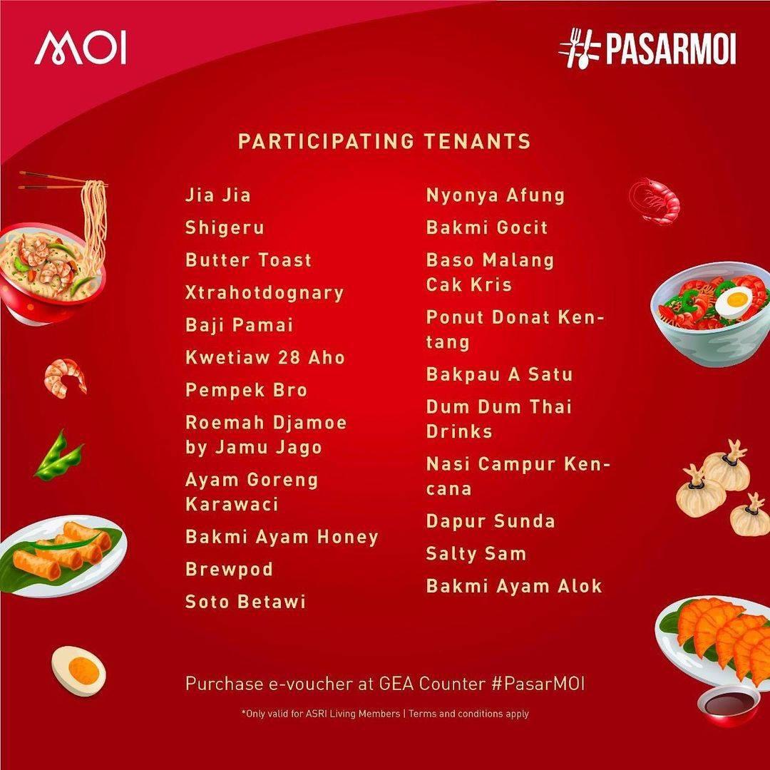 Promo diskon Mall Of Indonesia Promo Makan Rp. 10.000