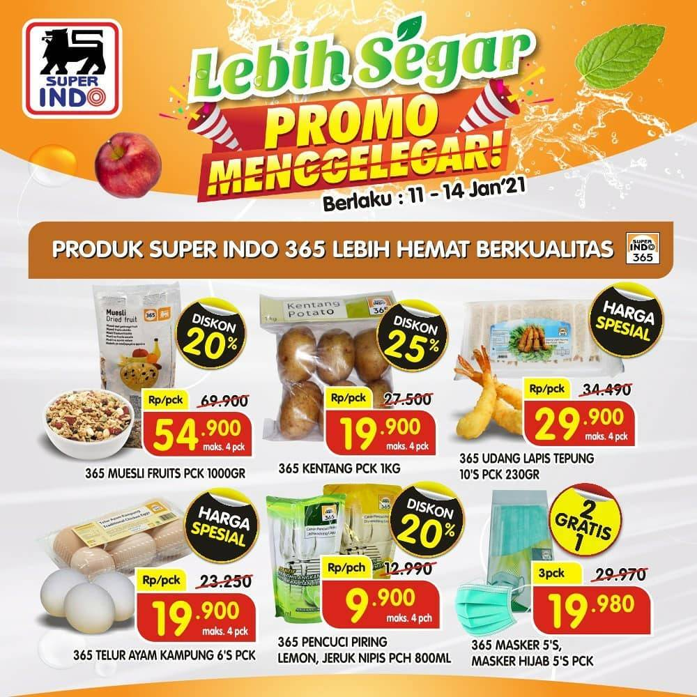 Promo diskon Superindo Katalog 11-14 Januari 2020