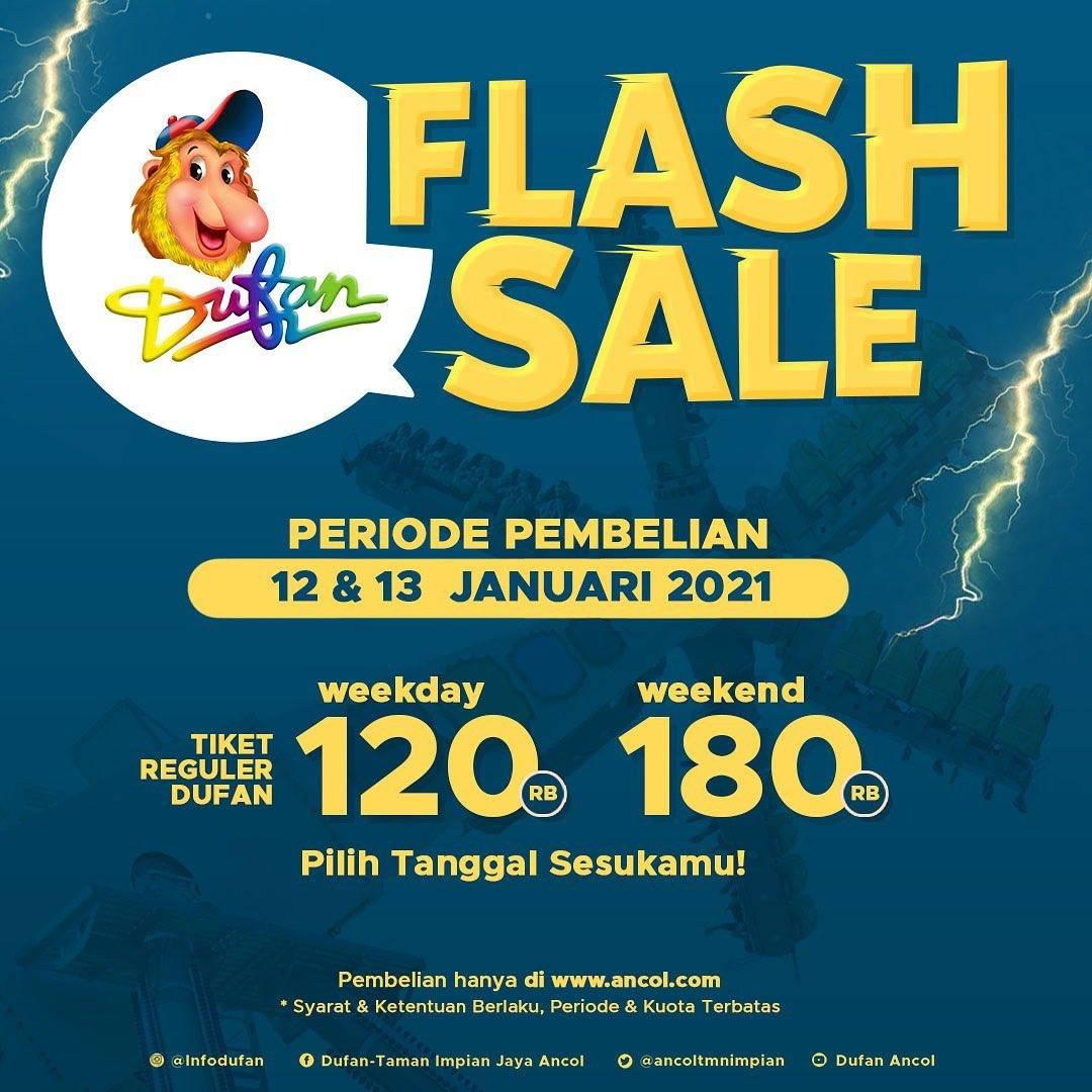 Diskon Dufan Flash Sale Tiket Reguler Harga Mulai Dari Rp. 120.000