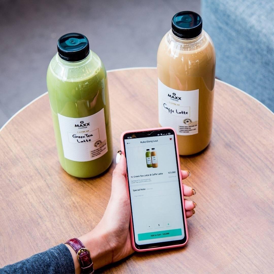 Diskon Maxx Coffee Promo 1L Bottle Bundle Deals Rp. 99.000 On App
