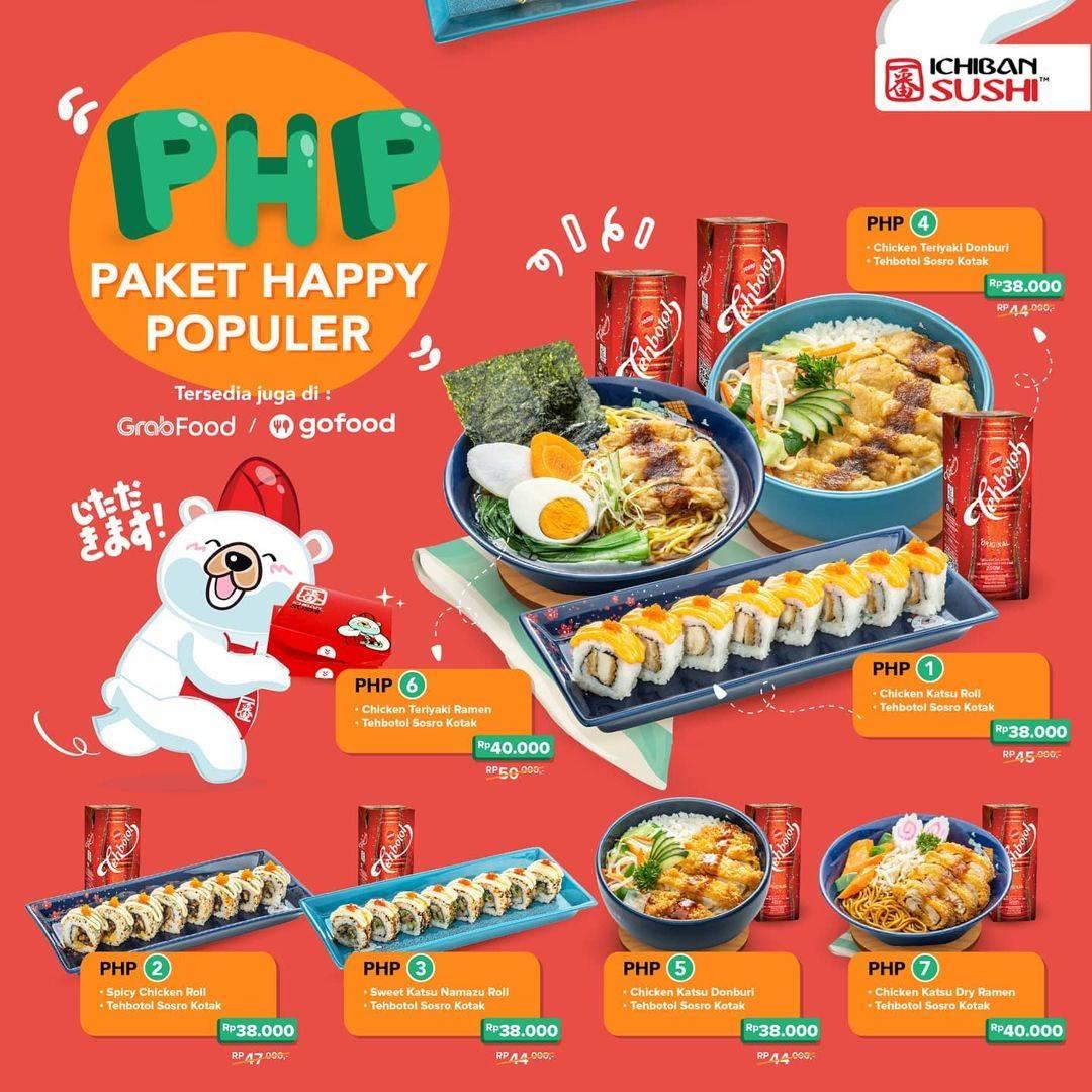 Diskon Ichiban Sushi Promo Paket Happy Populer