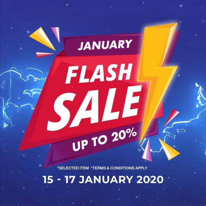 Diskon Planet Surf January Flash Sale Up To 20% Off