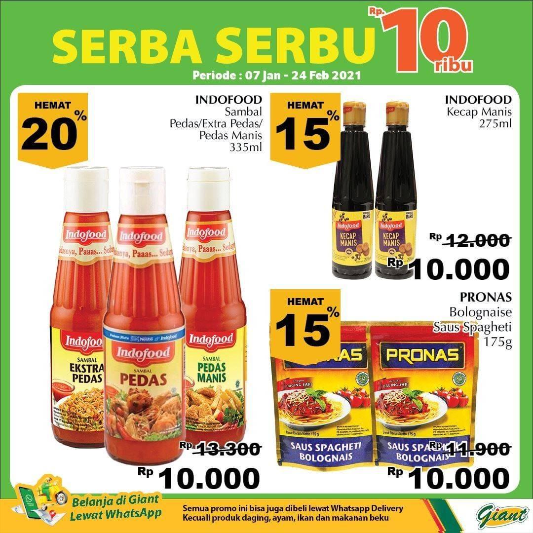 Diskon Katalog Promo Giant Serba Serbu 10.000!! Periode 7 Januari - 24 Februari 2021
