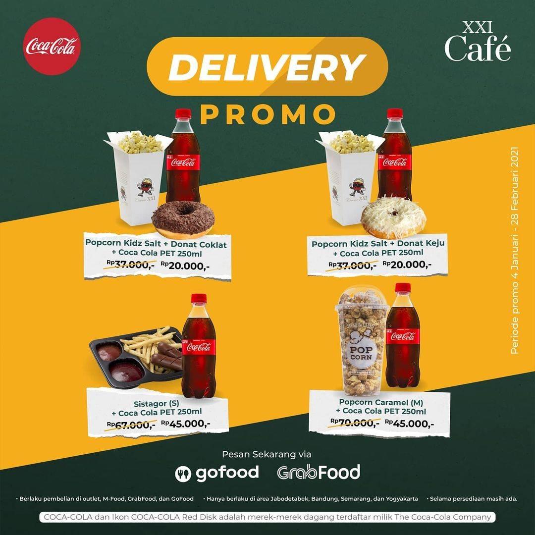Diskon XXI Cafe Delivery Promo Menu Mulai Dari Rp. 20.000