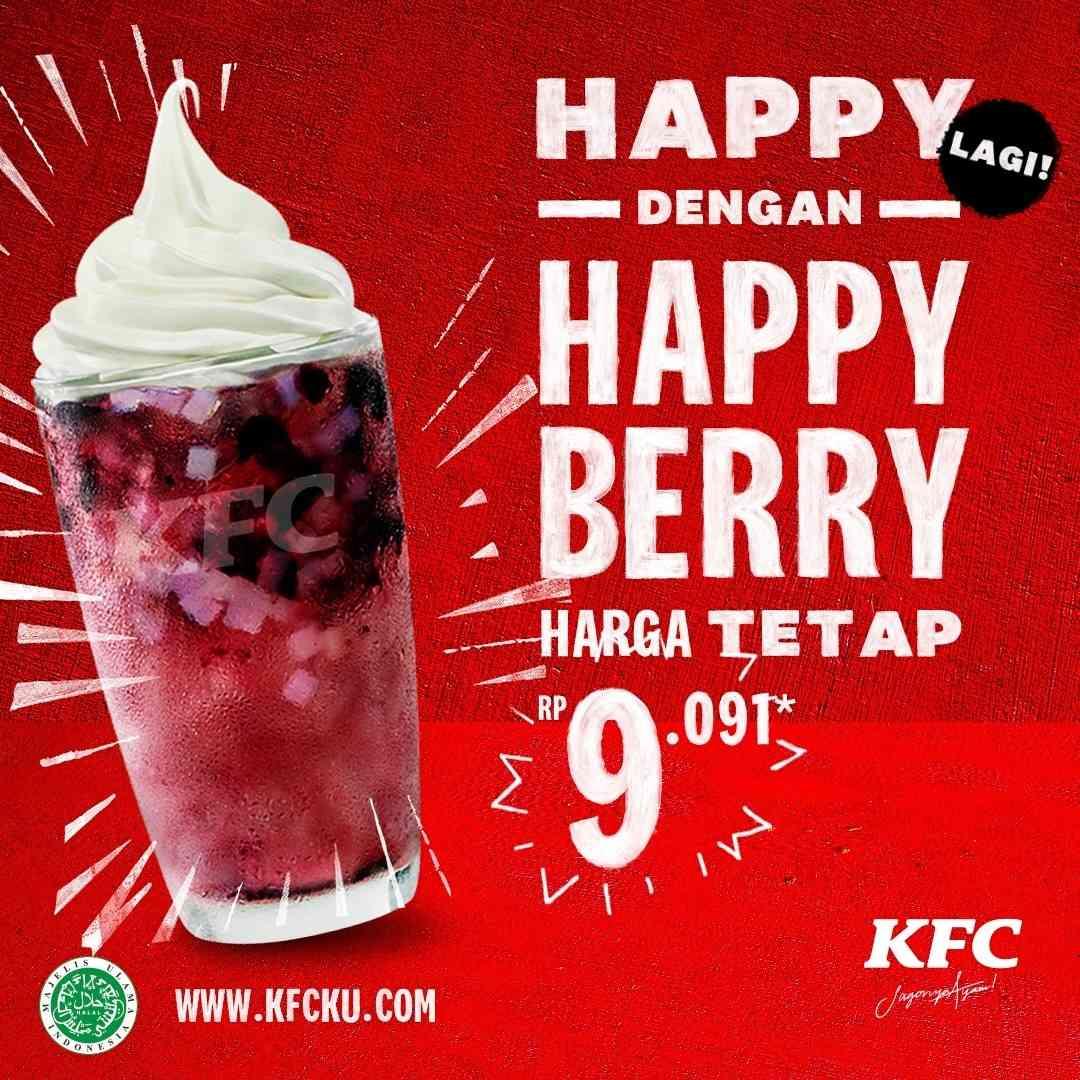 Diskon KFC Promo Happy Berry Hanya Rp. 9.091