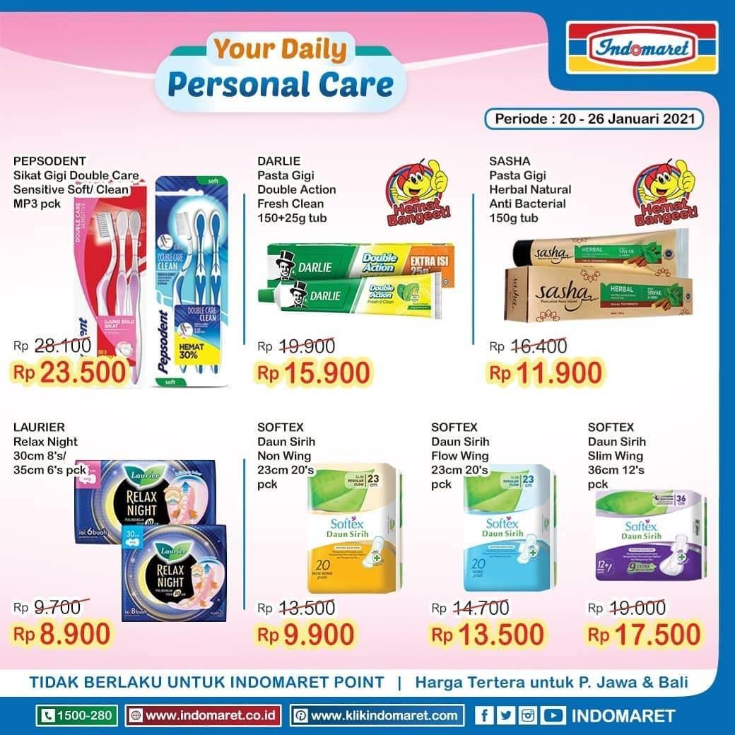 Promo diskon Katalog Promo Indomaret Super Hemat Terlengkap Periode 20 - 26 Januari 2021