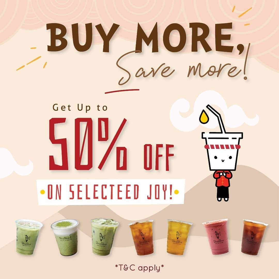 Diskon LIfe Of Shushu Get Discount Up To 50% Off On Selected Joy