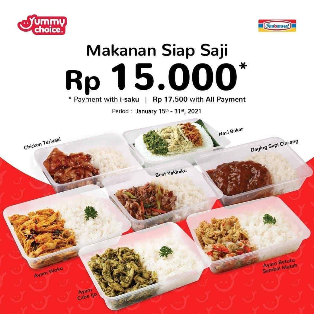 Diskon Indomaret Promo Makanan Siap Saji Harga Mulai Dari Rp. 15.000