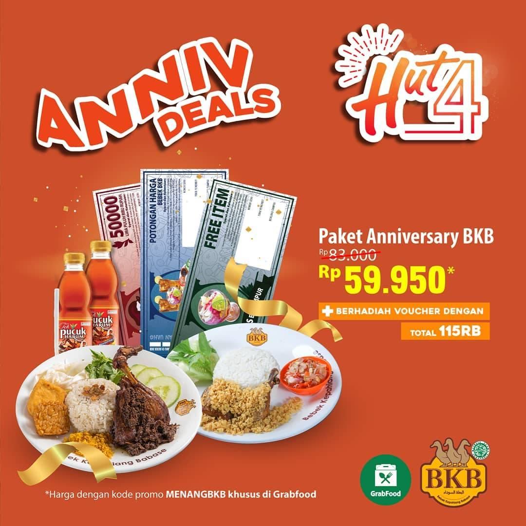 Diskon Bebek BKB Paket Anniv Deals Rp. 59.950