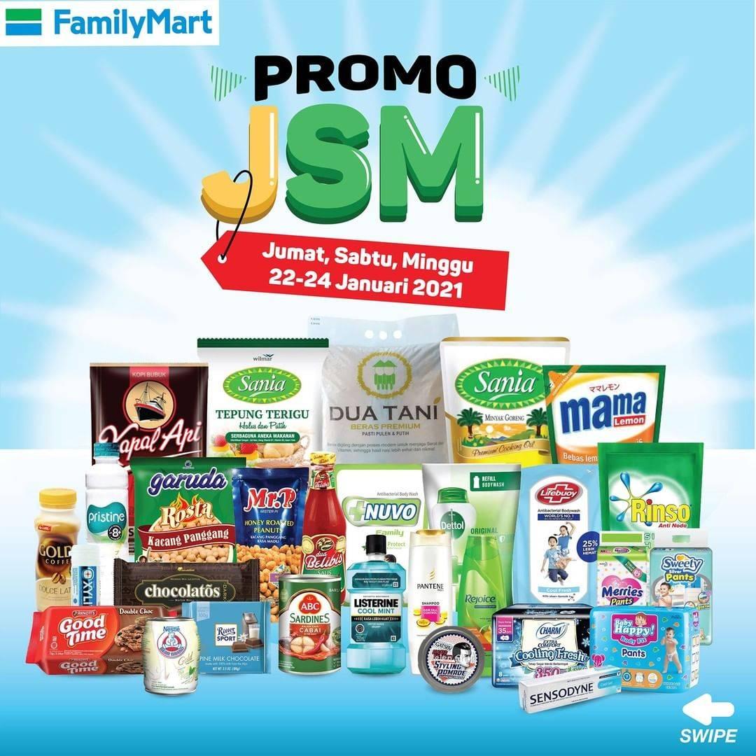 Diskon Katalog Promo FamilyMart JSM Periode 22 - 24 Januari 2021