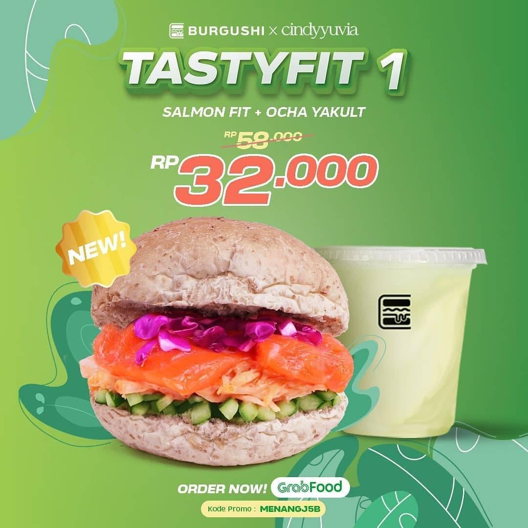 Diskon Burgushi Promo Tasty fit Series Harga Mulai Dari Rp. 19.000
