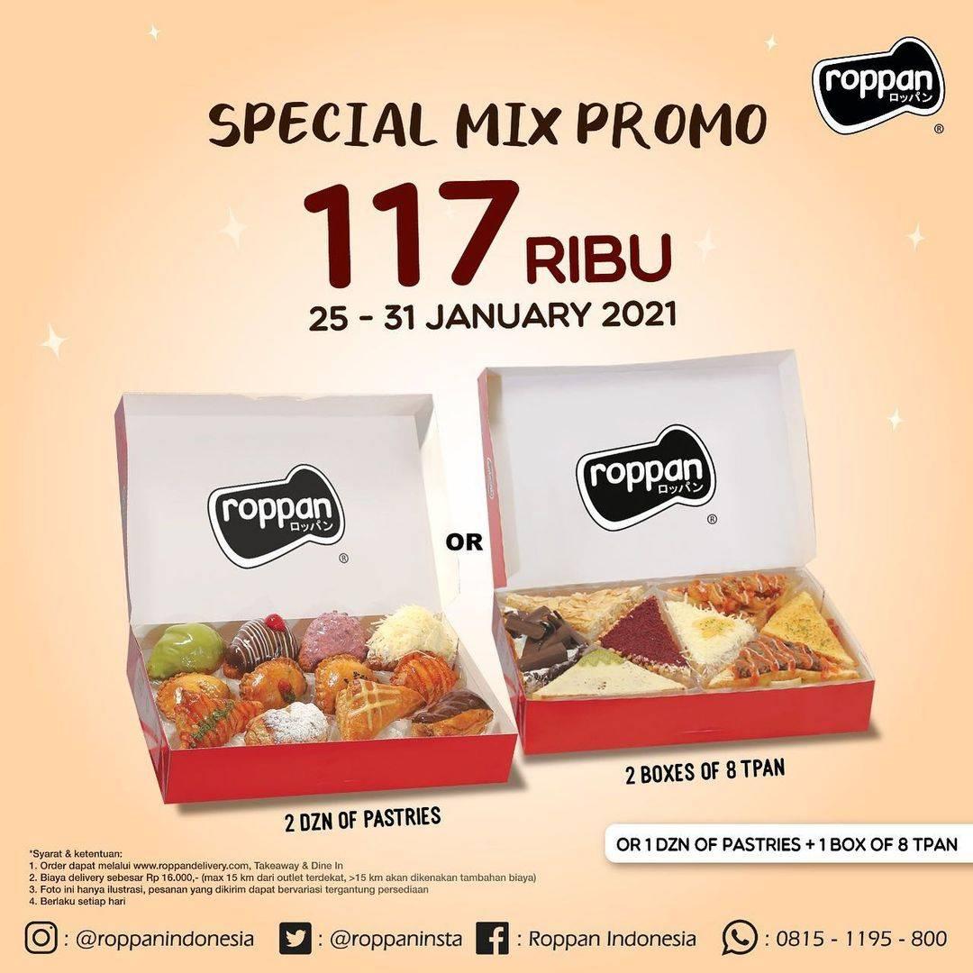 Diskon Roppan Special Mix Promo Rp. 117.000