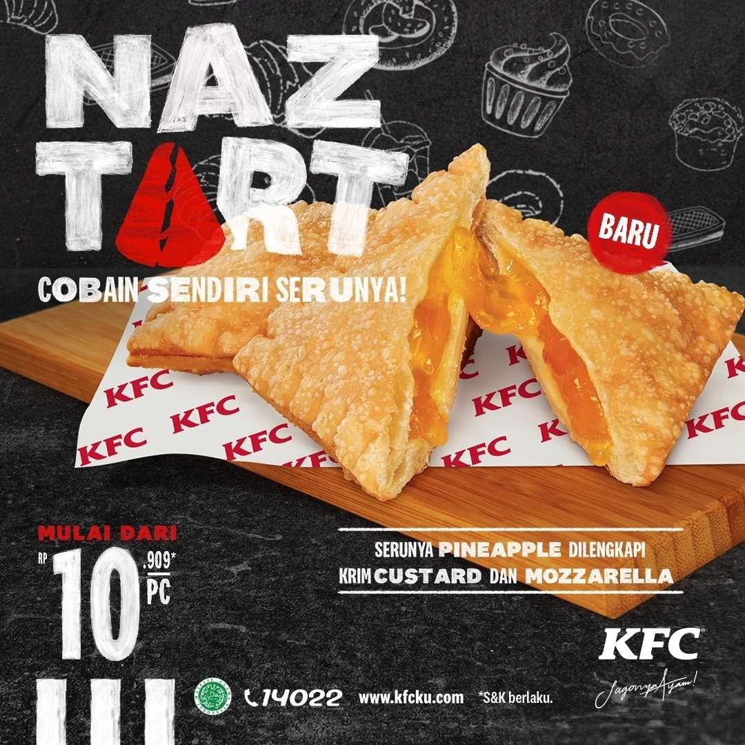 Diskon KFC Promo Naztart Harga Mulai Dari Rp. 10.909 /Pcs