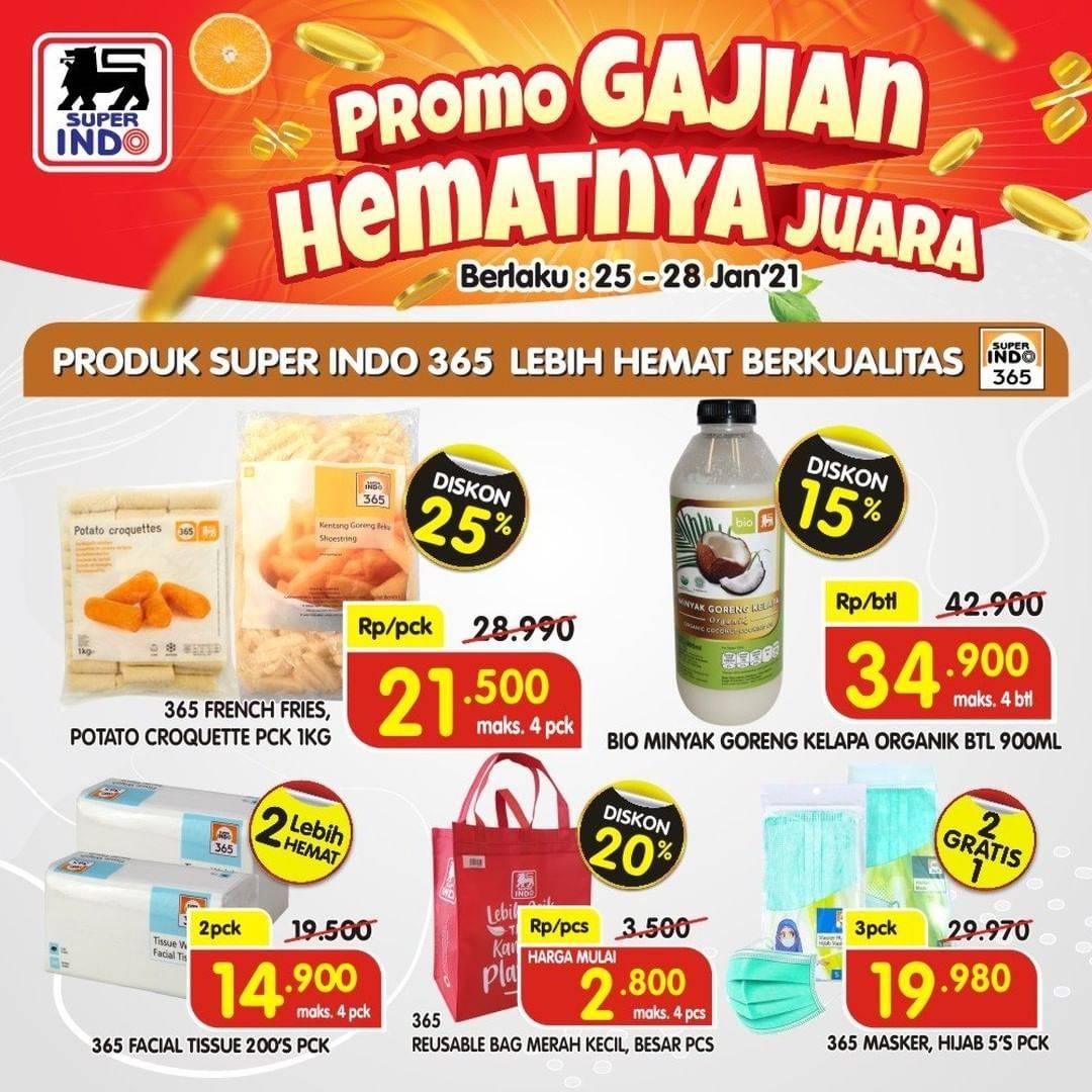 Promo diskon Superindo Katalog 25-28 Januari 2021 (1)