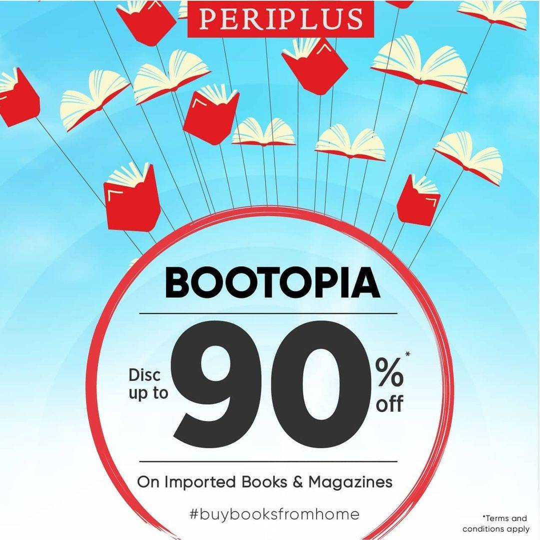 Diskon Periplus Bootopia Discount Up To 90% Off On Imported Books & Magazines