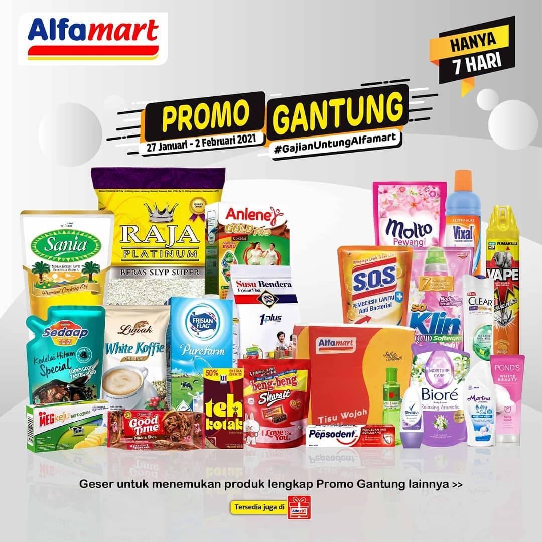 Diskon Katalog Promo Alfamart Promo Gantung Periode 27 Januari - 2 Februari 2021