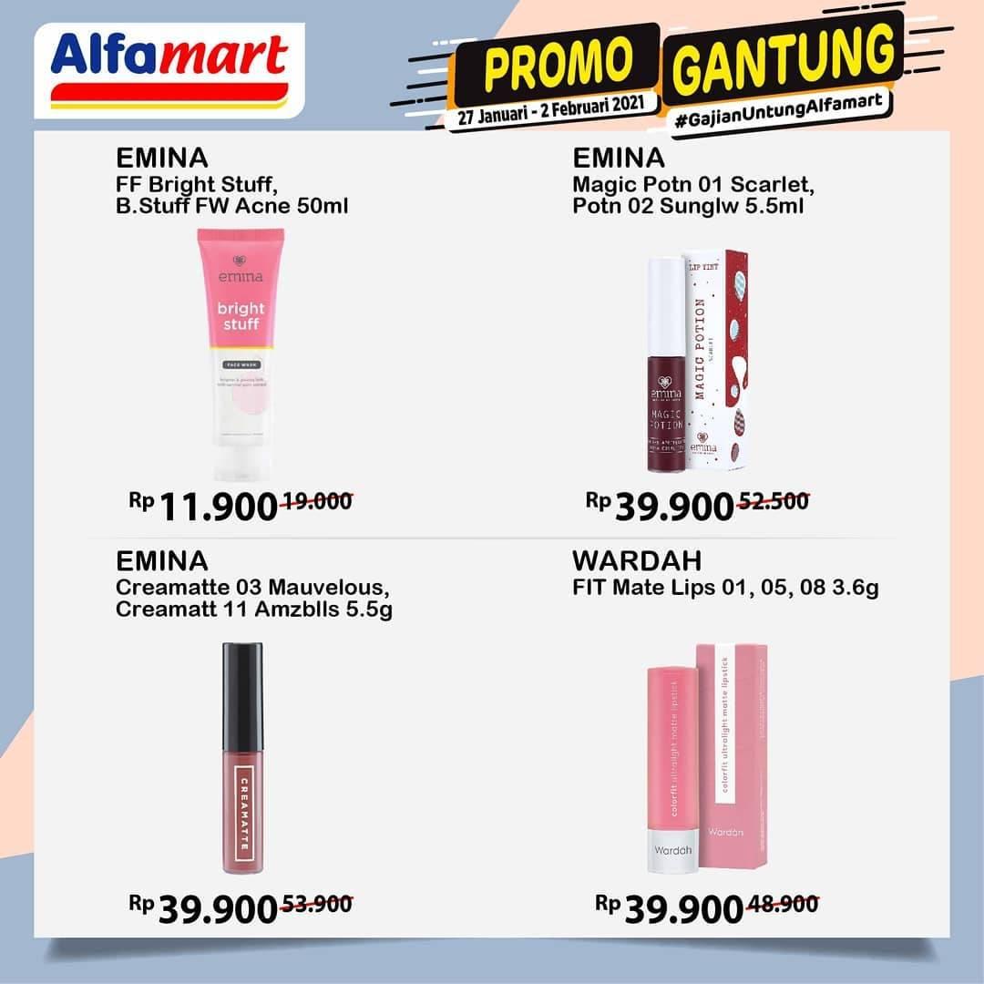 Promo diskon Katalog Promo Alfamart Promo Gantung Periode 27 Januari - 2 Februari 2021