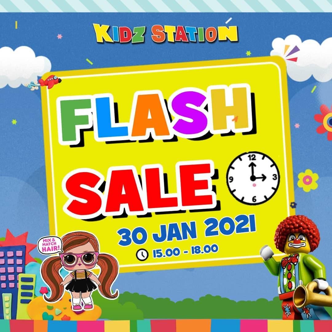 Diskon Kidz Station Flash Sale Aksesoris Favorit
