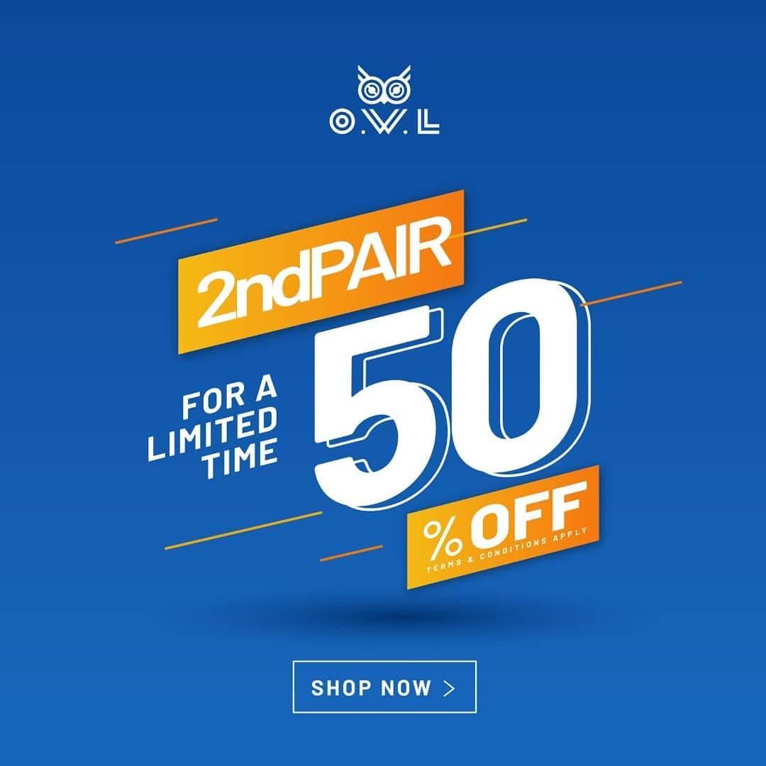 Diskon Owl Eyewear Discount 50% Off On 2nd Pair
