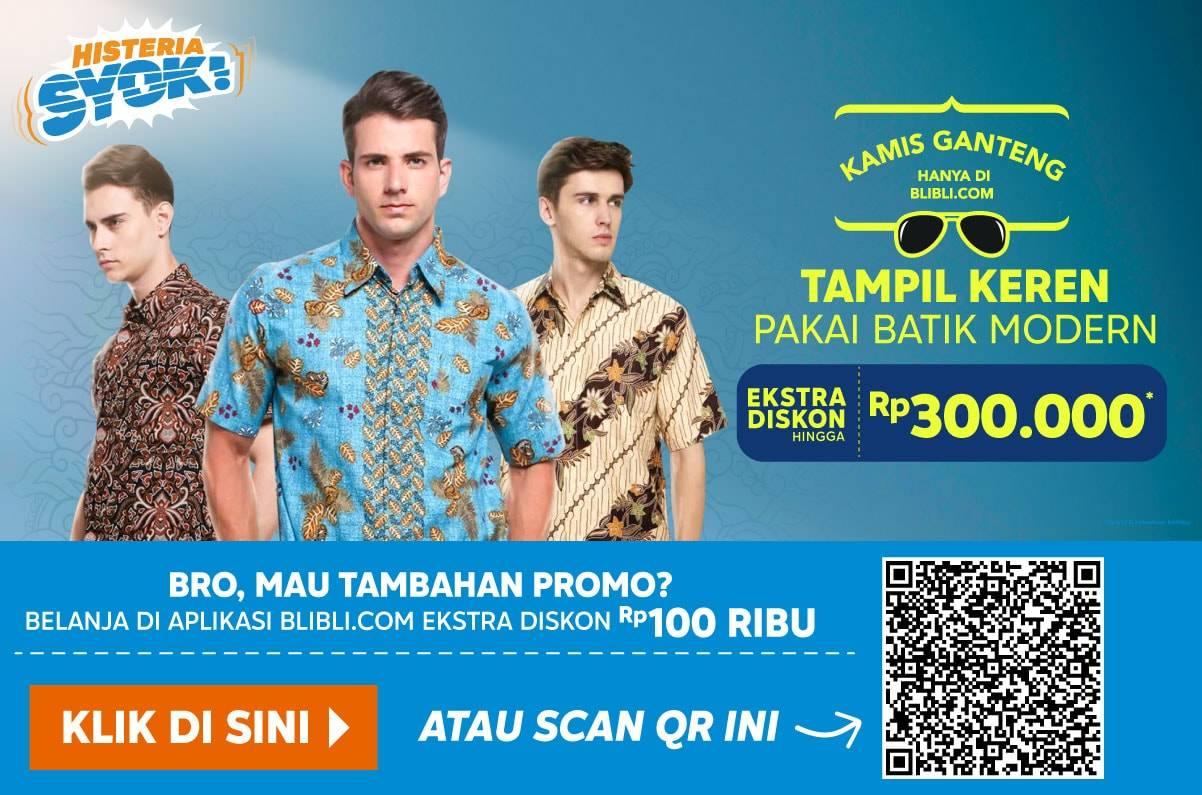 Blibli.com Promo Kamis Ganteng! Extra Disc up to 15% hingga Rp 300.000