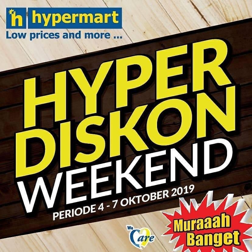 Diskon Katalog Promo Hypermart Weekend Promo Periode 4-7 Oktober 2019