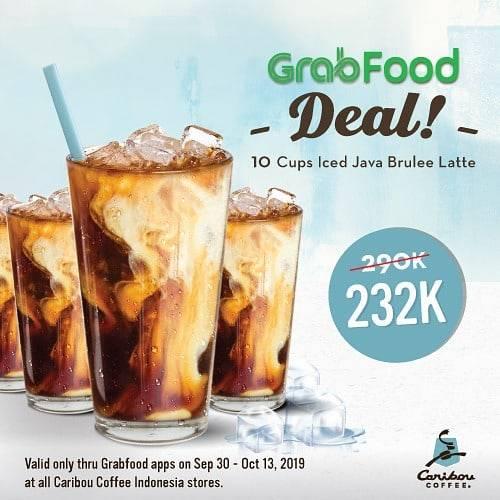 Caribou Coffee Grabfood Deals! Harga Spesial Menu Pilihan Khusus Pemesanan Via Grabfood